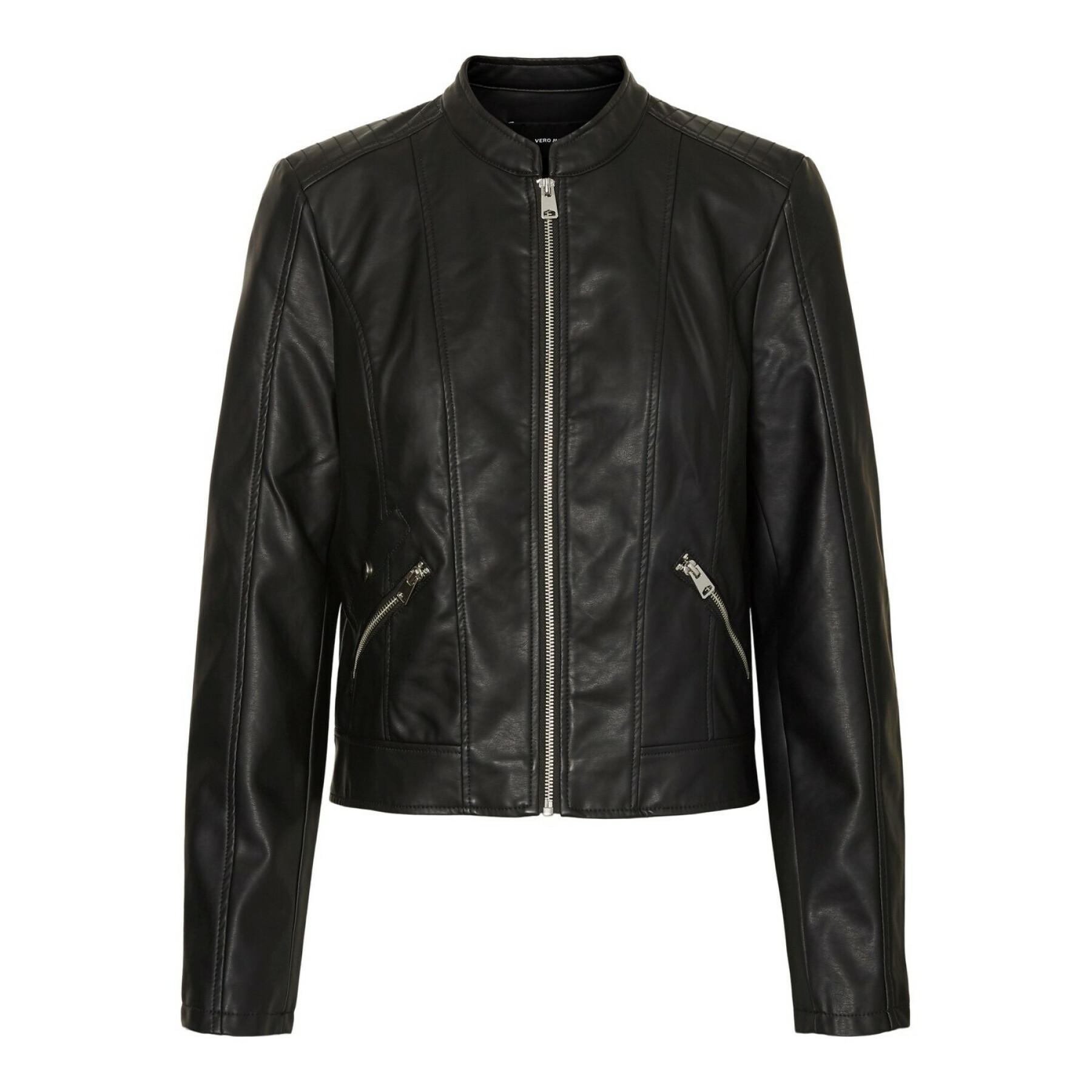 Women's jacket Vero Moda vmkhloe favo coated