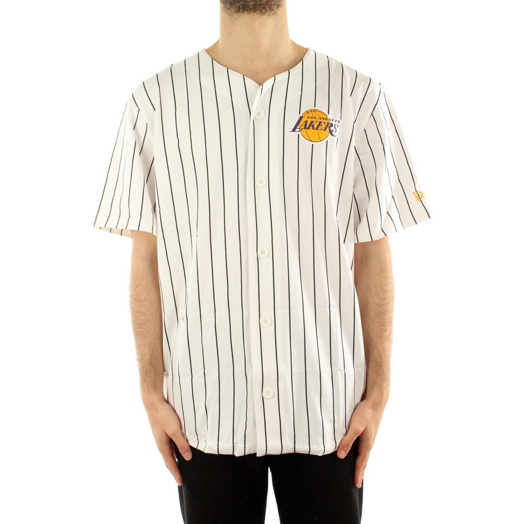 Baseball jersey New Era Los Angles Lakers