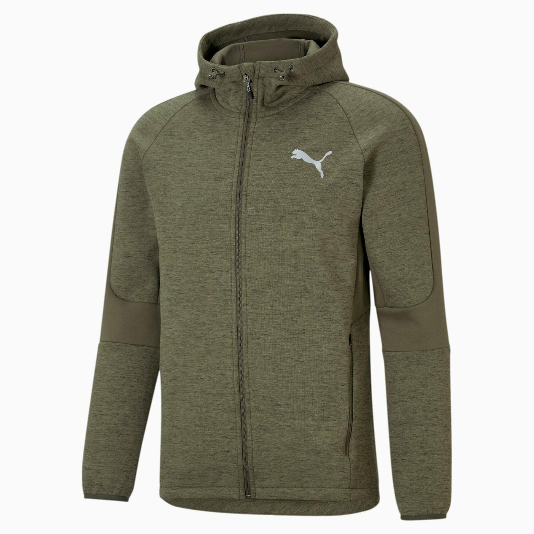 Full-zip sweatshirt Puma Evostripe