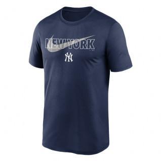 T-shirt New York Yankees Big City Swoosh Legend