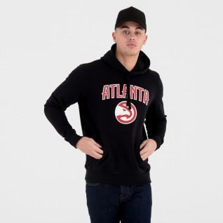New Era Hoodie with Atlanta Hawks Team Logo