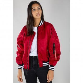 Alpha Industries MA-1 OS Tipped women's jacket
