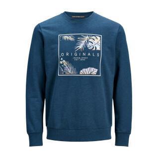 Jack & Jones children's sweatshirt with hazy crew neck