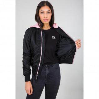 Women's Hooded Jacket Alpha Industries MA-1