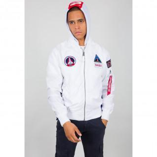 Hooded Jacket Alpha Industries MA-1 TT NASA