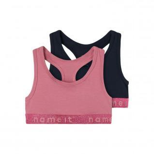 Set of 2 bras for girls Name it