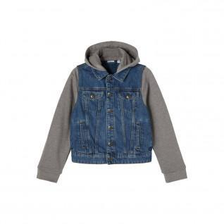 Boy's hooded denim jacket Name it Tpims