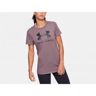T-Shirt Crew Neck Woman Under Armour Classic Graphic sportstyle