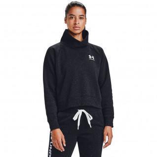 Under Armour Women's Rival Fleece Shawl Collar Sweatshirt