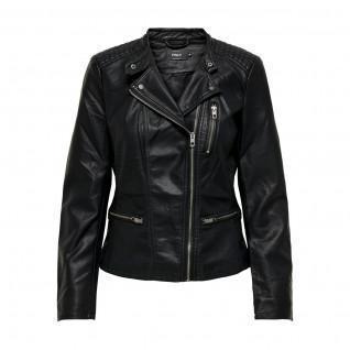Jacket woman Only Freya imitation biker leather