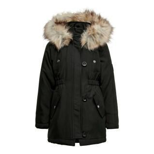 Girl's parka Only kids koniris fur