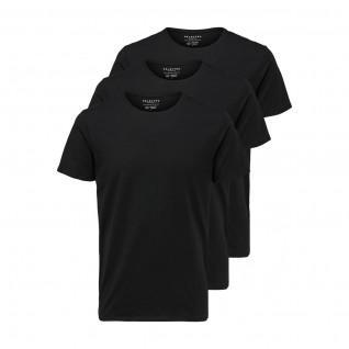 Packs of 3 Selected short-sleeved T-shirts Newpima Round Collar