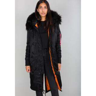 Alpha Industries Women's Long Fishtail Jacket