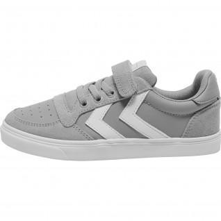 Children's sneakers Hummel slimmer stadil leather low