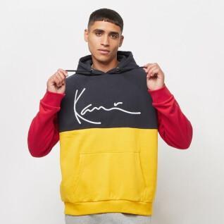 Hooded sweatshirt Karl Kani Small Signature Block Teddy