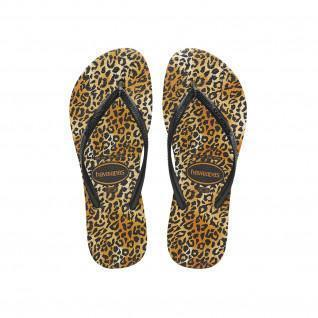 Havaianas Slim Leopard flip-flops