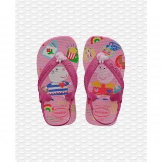 Flip-flops Havaianas bébé Peppa Pig