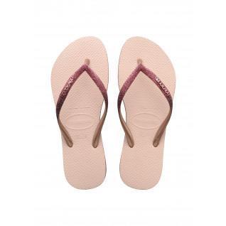 Havaianas Slim Sparkle II Women's Flip-flops