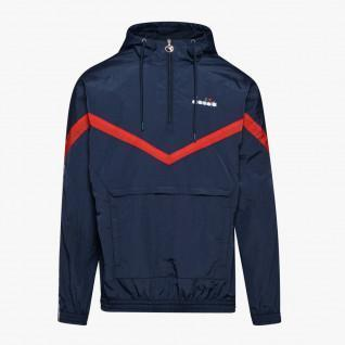 Hooded jacket 1/2 zip Diadora Offside