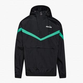 Diadora Offside 1/2 zip Hooded Jacket