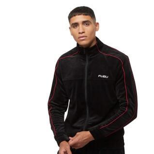 Sweat jacket Fubu Corporate Velours