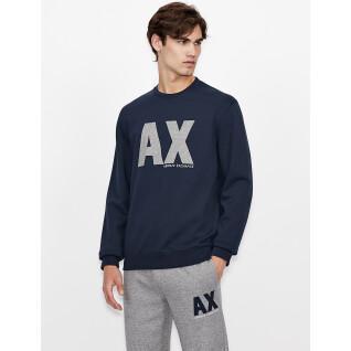 Sweatshirt round neck Armani Exchange 6KZMFG-ZJ5UZ navy
