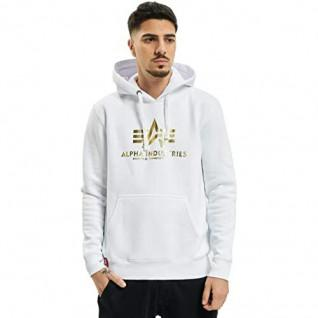 Alpha Industries Hooded Sweatshirt with Print