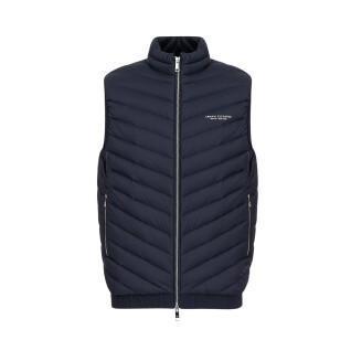 Sleeveless down jacket Armani Exchange 8NZQ52-ZNW3Z navy