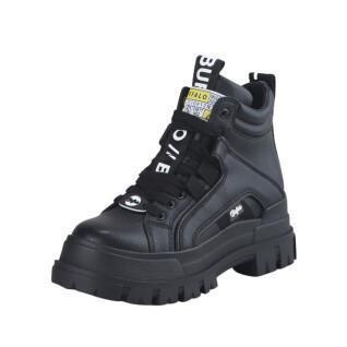 Women's shoes Buffalo Aspha NC MID Lace Up vegan