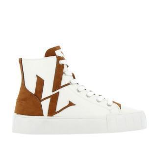 Women's high top sneakers Vanessa Wu monogramme - BK2303CM