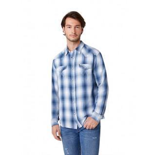 Wrangler Western Long Sleeve Shirt