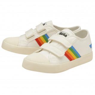Gola Coaster Rainbow Velcro sneakers for kids