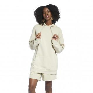 Hooded sweatshirt woman Reebok Classics Natural Oversized