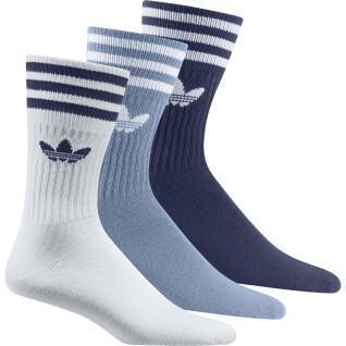 Set of 3 pairs of mid-calf socks adidas Originals