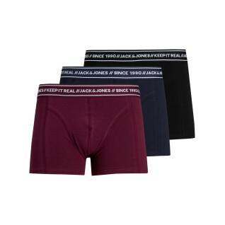 Set of 3 boxers Jack & Jones trois couleurs