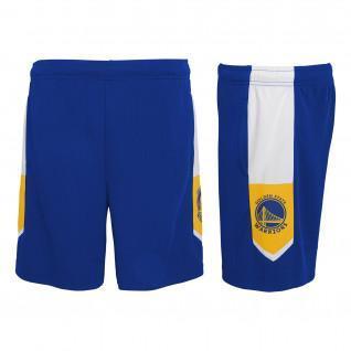 Outerstuff NBA Golden State Warriors children's home shorts