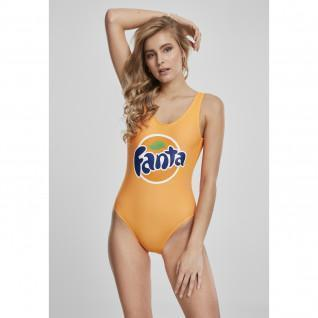 Urban Classic fanta logo swimsuit for women