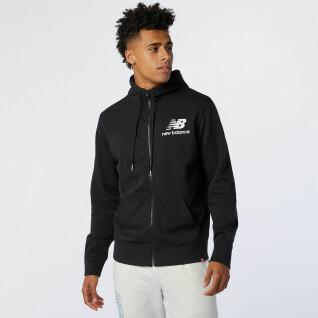 Full zip sweatshirt New Balance essentials stacked