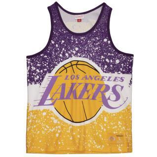 Tank top Mitchell & Ness Jumbotron Mesh Los Angeles Lakers