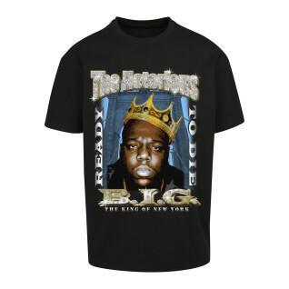 T-shirt Mister Tee biggie crown oversize