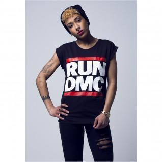 T-shirt femme Mister Tee run dmc logo