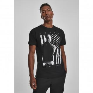 T-shirt Mister Tee 2pac prent