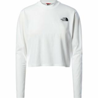 Women's long sleeve t-shirt The North Face Crop