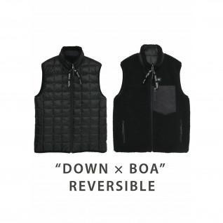 Reversible Down Jacket Down x Bore Taion