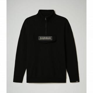 Napapijri B-patch half zip sweatshirt