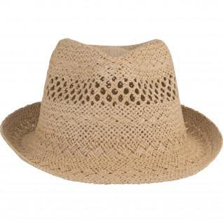 K-up Panama straw hat