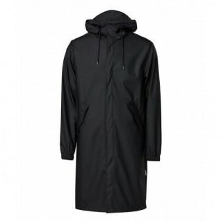 Fishtail Rains Parka Black