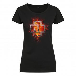 T-shirt Rammstein rammstein woman lava logo