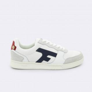 Faguo hazel syn woven suede shoes