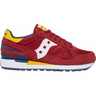 Saucony Shadow Original Red/Yellow/Blue Shoes